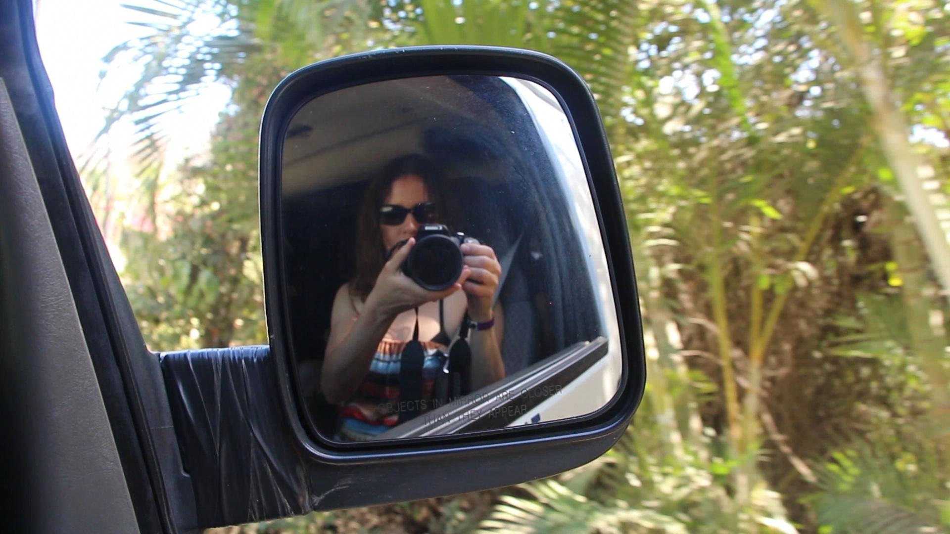 Daina with camera